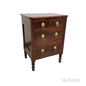 Classical Mahogany Commode