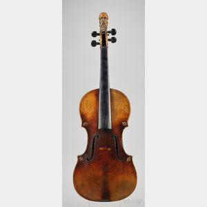 French Violin, Jean Baptiste Vuillaume, Paris, c. 1840