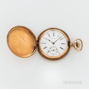 14kt Gold Hunter-case Watch