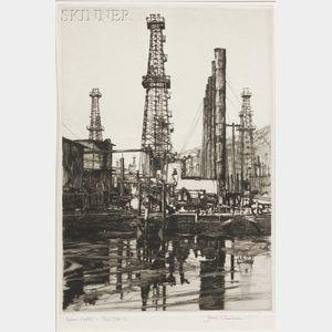 Samuel V. Chamberlain (American, 1895-1975)      Oil