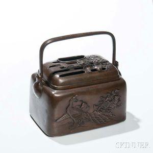 Portable Bronze Hand Warmer