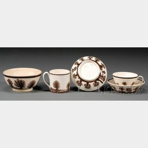 Three Mochaware Items