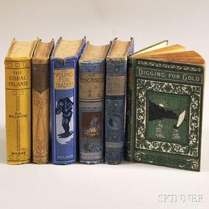 Ballantyne, Robert Michael (1825-1894) Six Volumes.