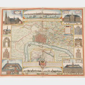 Sold for: $19,975 - (Atlas, Composite, Germany and World), Visscher, Nicholaus, De Witt, Frederick, and   Others