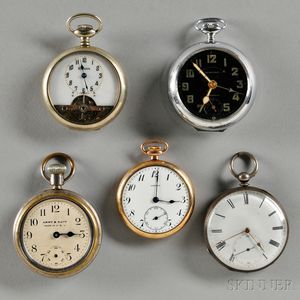 T. Cooper and Four Other Watches