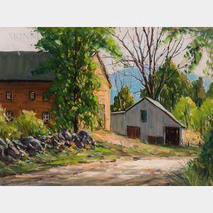 John F. Enser (American, 1898-1968)      Farm Yard