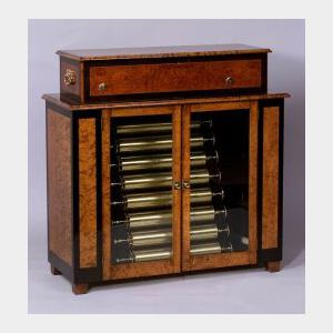 Mandoline Organoclide Changeable Musical Box By B. A. Bremond