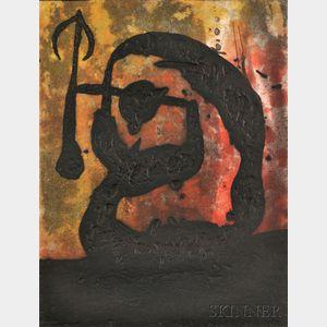Joan Miró (Spanish, 1893-1983)      Tête de Flèche