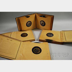 Forty-nine Duke Ellington Brunswick 78 RPM Records