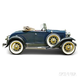 1930 Model A Deluxe Roadster