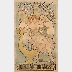 Louis Charbonnier (French, 1874-1935)      La Muse de Montmartre