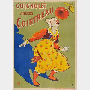 Eugène Ogé (French, 1861-1936)      Guignolet Angers Cointreau