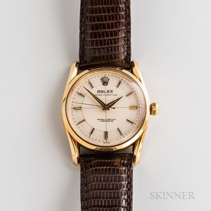 Rolex 14kt Gold Reference 6590/6593 Wristwatch