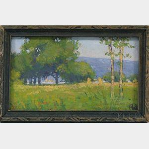 Mordecai Rosenberg (American, 1888-1952)      Camp Grant