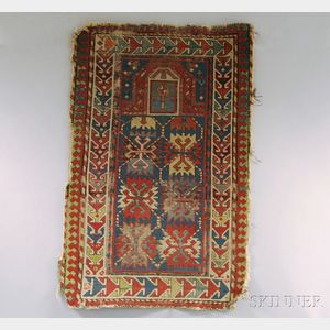South Caucasian Prayer Rug