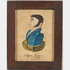 American School, Early 19th Century      Portrait of a Gentleman