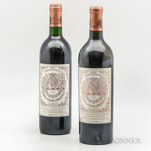 Chateau Pichon Baron, 2 bottles
