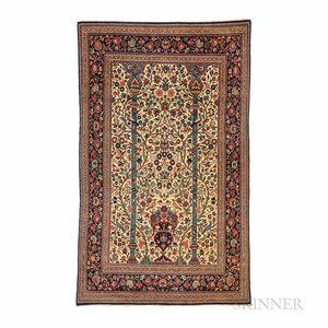 Kashan Prayer Rug