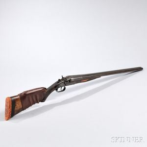J. Stevens Arms & Tool Company 12 Gauge Hammer Shotgun