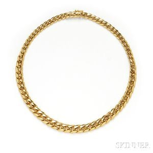 18kt Gold Necklace, Tiffany & Co.