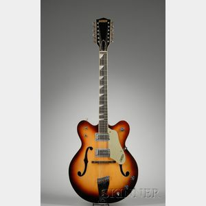 American Twelve-String Guitar, Gretsch Company, Brooklyn, c. 1966, Model 6075