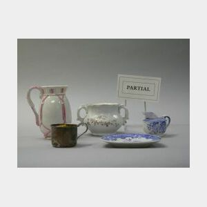 Approximately Forty-two Pieces of Assorted Childrens and Miniature China.