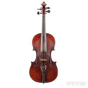 American Violin, Victor Carroll Squier, Battle Creek, 1918