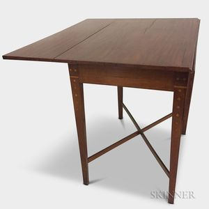 Federal-style Inlaid Mahogany Pembroke Table