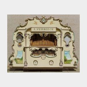 52-Key Band Organ By J. Verbeeck