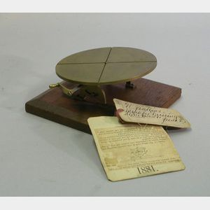 Patent Model of a Machine for Dressing Wood and Stone
