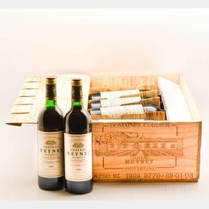 Chateau Meyney 1989, 12 bottles (owc)