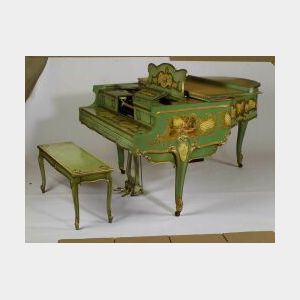 Weber Duo-Art Reproducing Grand Piano