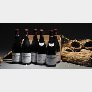 Sold for: $24,400 - Domaine de la Romanee Conti Assortment 2001