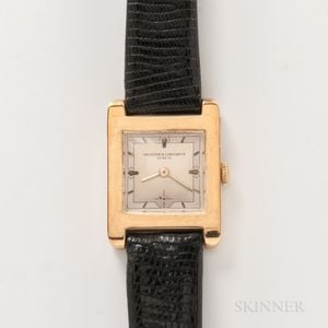 Vacheron & Constantin 18kt Gold Wristwatch