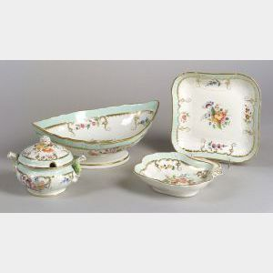 Continental Porcelain Partial Luncheon Service