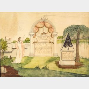 American School, 19th Century      Family Record and Memorial.