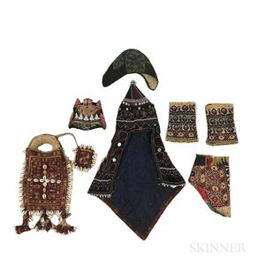 Seven Turkoman Textiles