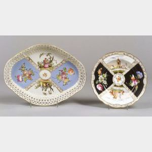 Fifteen German Porcelain Plates