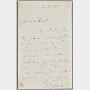 Constable, John (1776-1837) Autograph Letter Signed, 16 June 1836.