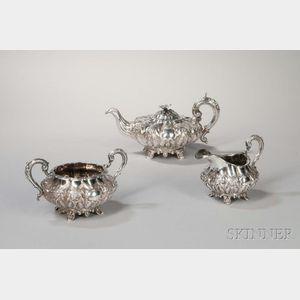 William IV Irish Sterling Silver Tea Service