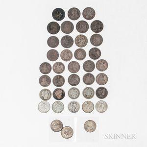 Group of Half Dollars