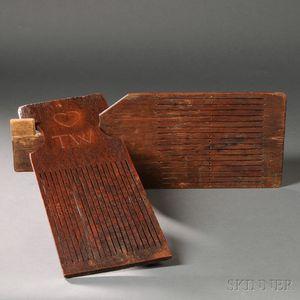 Two Oak Tape Looms