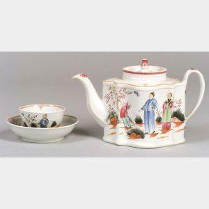 Newhall Porcelain Tea Wares