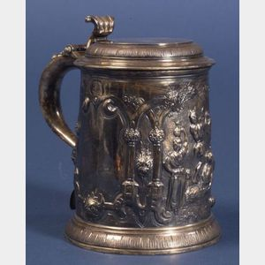 Early Georgian Silver Tankard