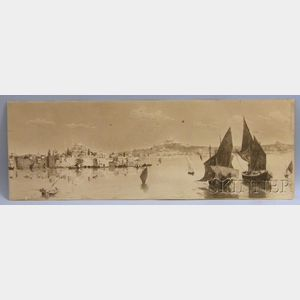 American School, 19th/20th Century      View of Constantinople.