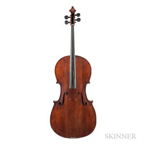 American Violoncello, George W. Daniels, Boston, 1881