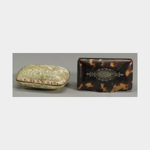 Two Small Snuff Boxes
