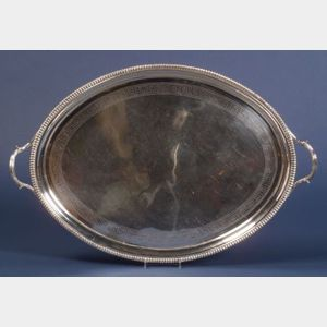 George III Silver Tea Tray