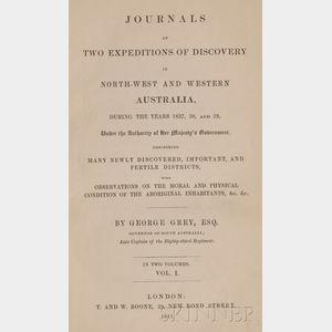 (Australia, Exploration), Grey, Sir George (1812-1898)