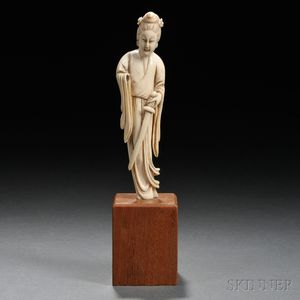 Ivory Carving of a Woman